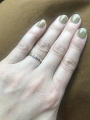 【ORECCHIO(オレッキオ)の口コミ】 普段からアンティークな雰囲気が好きな事もあって、結婚指輪にもアンティ…