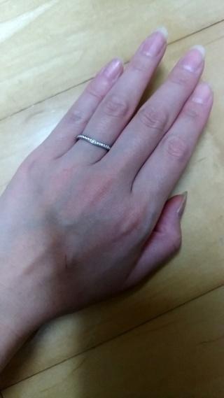 【カルティエ(Cartier)の口コミ】 憧れのカルティエでと決めていたので他のお店は見ていません。指輪に微妙…