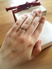 【俄(にわか)の口コミ】 指の形に合わせて指輪をお店の方が選んで下さるため、自分の指が綺麗に見え…