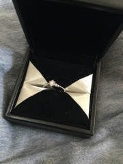 【エクセルコダイヤモンド(EXELCO DIAMOND)の口コミ】 限定のダイヤで価格がお手頃だった。色々みて回りましたが、エクセルコの…