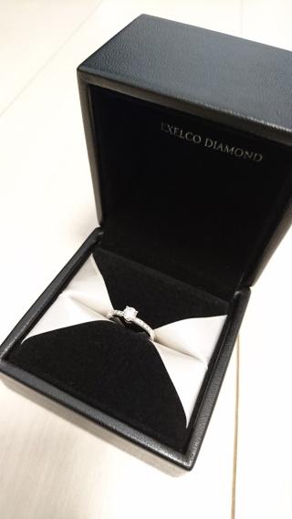 【エクセルコダイヤモンド(EXELCO DIAMOND)の口コミ】 まったく決める気はなくお店に入りましたが、それまでに入ったお店のダイ…