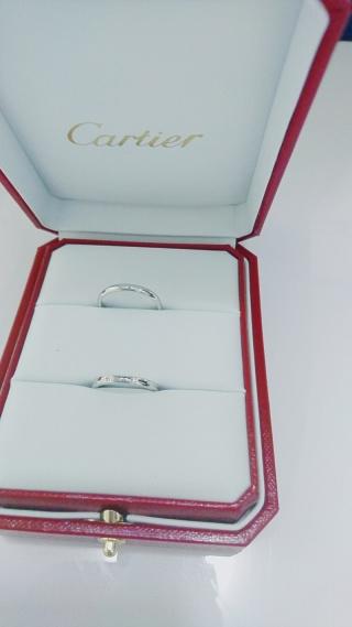 【カルティエ(Cartier)の口コミ】 結婚指輪は一生つけるものなので自分の憧れるブランドにしようと決めてい…