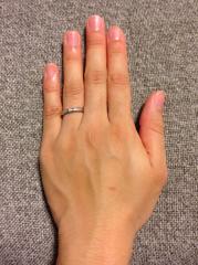 【ティファニー(Tiffany & Co.)の口コミ】 夫が私に内緒で購入してくれた婚約指輪がティファニーのダイヤモンドのエン…