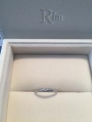 【Ginza Rim(銀座リム)の口コミ】 ゼクシィの指輪特集を見て、ピンクダイヤといえば、銀座リム!と書かれて…