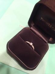 【ティファニー(Tiffany & Co.)の口コミ】 普段使いしたかったのですが一粒ダイヤだと大きくて使い勝手が良くないか…