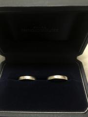【銀座ダイヤモンドシライシの口コミ】 デザインを自分の好みで選ぶことができて、誰とも被らないオリジナルデザ…
