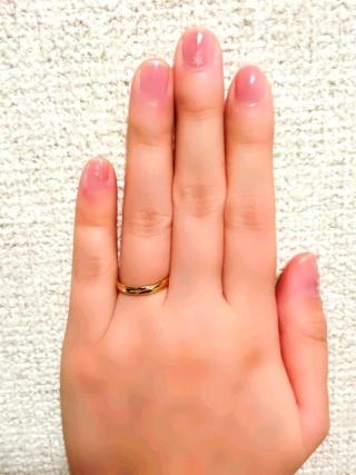 【宝寿堂(ほうじゅどう)の口コミ】 婚約指輪に引き続き宝寿堂さんにお世話になりました。私も彼も指が太いの…