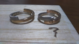 【ichi(イチ)の口コミ】 二人とも和柄が好きで、他人とはちょっと違う指輪がいいなと思っていたの…