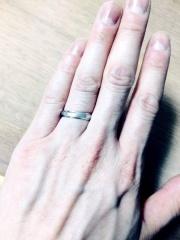 【CHRISTIAN BAUER(クリスチャンバウアー)の口コミ】 何店舗か周りましたが、今の流行りの指輪は、幅が短い物しか見つからなく…