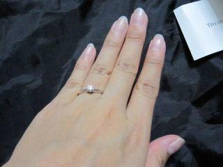 【ティファニー(Tiffany & Co.)の口コミ】 婚約指輪を買うにあたり、昔から憧れだったティファニーがいいと以前から思…