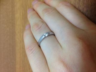 【Cafe Ring(カフェリング)の口コミ】 指輪を選び始めた当初は、4℃やティファニーなど流行りの指輪を見ていたの…