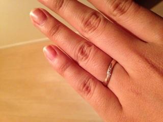 【TAKE-UP(テイクアップ)の口コミ】 肌なじみの良いピンクゴールドの指輪を探していました。指輪にあまりお金を…