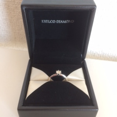 【エクセルコダイヤモンド(EXELCO DIAMOND)の口コミ】 いくつものブランドを比較した結果、いちばん指にはめやすく、ダイヤモン…