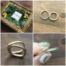 【mina.jewelry(ミナジュエリー)の口コミ】 結婚前から、mina.jewelryが作る指輪のデザインに一目惚れをしていました…