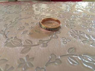 【ケイウノ ブライダル(K.UNO BRIDAL)の口コミ】 結婚指輪はディズニーデザインのオーダーメイドでケイウノ以外は全く考え…