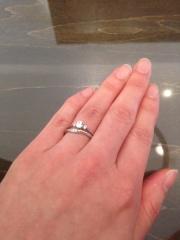 【JEWELRY  KAMATA(ジュエリーかまた)の口コミ】 マリッジリングの試着をしてきました! 婚約指輪はサプライズでプレゼント…