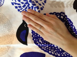 【e.m.の口コミ】 結婚指輪は、毎日つけるものだからシンプルなデザインが良い、と考える人…
