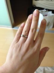 【ショーメ(CHAUMET)の口コミ】 カギ爪になっているような指輪はいやだったので違う形で探していたところよ…