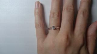 【MIKIMOTO(ミキモト)の口コミ】 どうしてもミキモトの指輪がよかったので、迷わず本店で買うことにしまし…