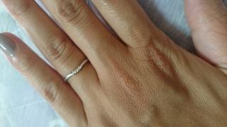【アイプリモ(I-PRIMO)の口コミ】 ごつめの指輪より、品のある細いデザインの指輪がよくてずっと探していた…