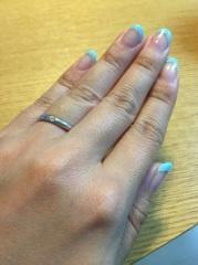 【ティファニー(Tiffany & Co.)の口コミ】 ティファニーに憧れがあったので、結婚指輪はティファニーと決めていました…