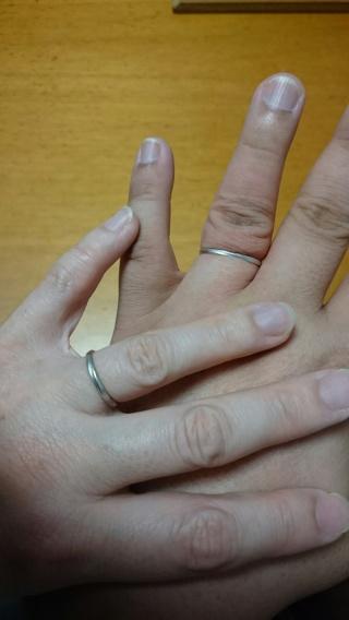 【ウィスプ(WISP)の口コミ】 シンプルでどんな洋服にもシーンにも似合う指輪を探していました。派手すぎ…