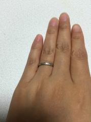 【アイプリモ(I-PRIMO)の口コミ】 シンプルで、重ねづけも楽しめるとのことで購入を決めました。ネットで結婚…