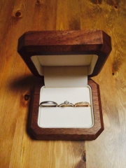 【TANZO(タンゾウ)の口コミ】 鍛造製法で指輪を一つ一つ職人さんが作ってくださること。 フルオーダーで…