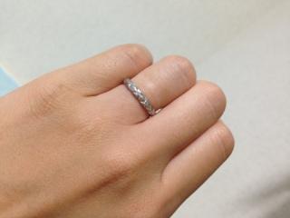 【シャネル(CHANEL)の口コミ】 人と被らないデザインで一番気に入ったのがこの指輪でした。シャネルならで…