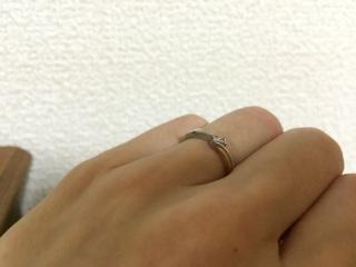 【アイプリモ(I-PRIMO)の口コミ】 シンプルすぎるデザインだと同じような指輪をしている人がたくさんいるの…