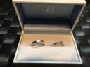 【ガラOKACHIMACHIの口コミ】 シンプルな結婚指輪を探してましたが、いざシンプルなデザインの物をつけ…