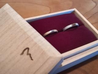 【ichi(イチ)の口コミ】 鍛造の魅力、指輪のデザインの魅力、スタッフさんの魅力が圧倒的でした。 …