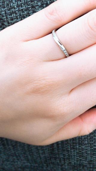 【アイプリモ(I-PRIMO)の口コミ】 結婚指輪はお互い仕事でもいつでもつけることができるシンプルなものを探…