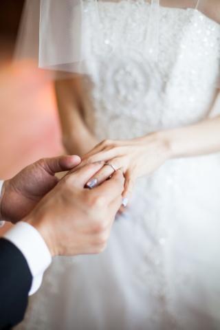 【ティファニー(Tiffany & Co.)の口コミ】 婚約指輪と同じブランドにしたいというのが1番でした。先行して婚約指輪を…