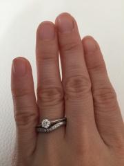 【ティファニー(Tiffany & Co.)の口コミ】 婚約指輪はつける機会が少ないからもったいないので、「要らないよ」と伝…