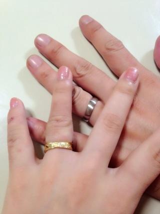 【MIORING(ミオリング)の口コミ】 2人のつけたいデザインが違うので、なかなか指輪を決められずにいたところ…