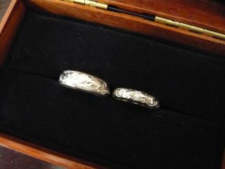 【Wailea(ワイレア)の口コミ】 沢山のモチーフ(柄)とメッセージから色々な組み合わせで指輪を作ること…