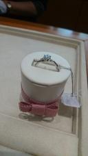 【アネリディギンザ(ANELLI DI GINZA)の口コミ】 店内を見て回っている時にピンクダイヤも可愛いけど可愛すぎるかな。との…