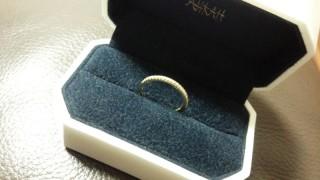 【AHKAH(アーカー)の口コミ】 婚約指輪は、ずっと憧れていた「AHKAH」が良い!と思っていました。 …