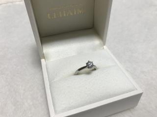 【LEHAIM(レハイム)の口コミ】 これぞ婚約指輪!という、王道の一粒石のものを探していました。予算内で…