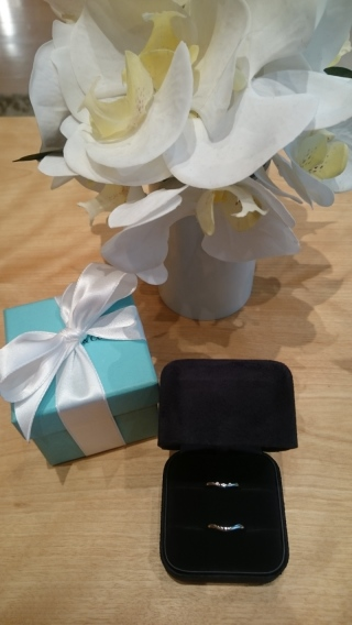 【ティファニー(Tiffany & Co.)の口コミ】 石が付いていても派手すぎないものを探していたので、希望にぴったり合っ…