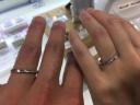 【LEHAIM(レハイム)の口コミ】 少しウェーブがかかっていて、メレダイヤが入っている指輪が欲しくて、い…