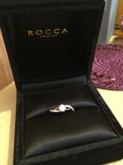 【ROCCA(ロッカ)の口コミ】 一目ぼれでした(笑)可愛さの中に上品さもありとても気に入りました。お店…