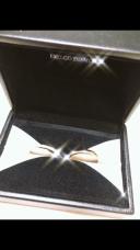 【エクセルコダイヤモンド(EXELCO DIAMOND)の口コミ】 プラチナ、ゴールド、ピンクゴールドの中から選ぶならピンクゴールドを探…