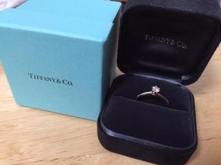 【ティファニー(Tiffany & Co.)の口コミ】 プロポーズの際に、主人が用意したものなのではっきりとした決め手は分か…