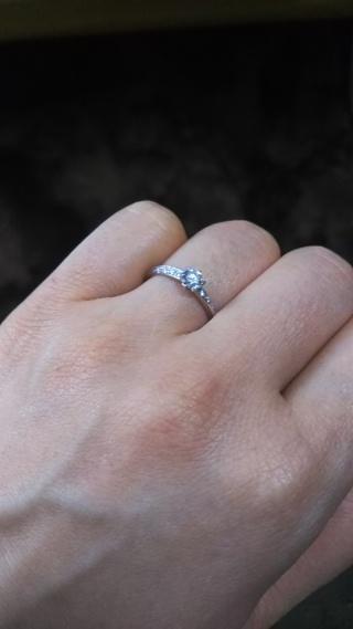 【BRILLIANCE+(ブリリアンスプラス)の口コミ】 クリスマスイブにサプライズで「ダイヤモンドでプロポーズ」をしてもらい…