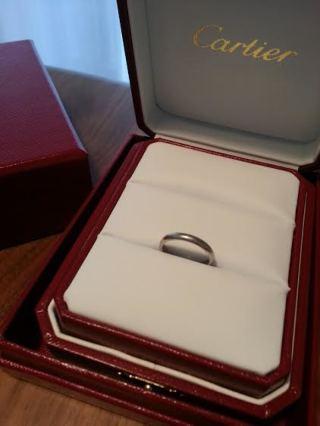【カルティエ(Cartier)の口コミ】 夫婦で同じデザインのものにしたかった私たちは、夫がいくつになっても、つ…