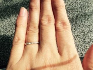 【4℃(ヨンドシー)の口コミ】 旦那がディズニー好きだったのと指輪のデザインが気に入ったので即決しまし…