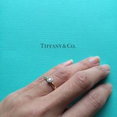 【ティファニー(Tiffany & Co.)の口コミ】 結婚指輪はシンプルなものが良かったが、シンプルすぎてしまうのが多くなか…
