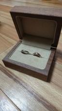 【入倉康ジュエリー工房の口コミ】 婚約指輪は私が気に入ったものであればいいという事だったので、結婚指輪…